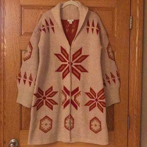 New Sundance Catalog Sweater Jacket size Medium